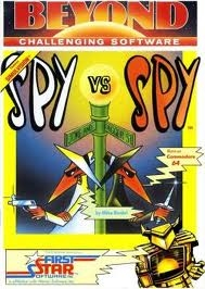 Box art for 'Spy vs Spy'