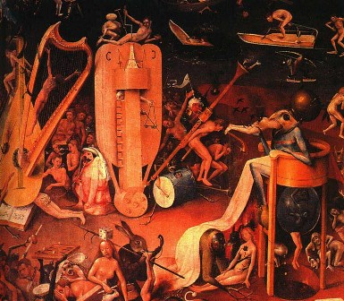 Bosch's vision of Hell