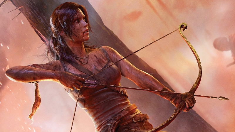 The new look Lara Croft. Because 'The Hunger Games'' was REALLY big last year