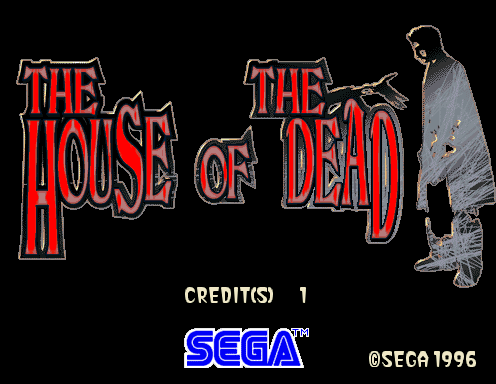 The House of the Dead title card