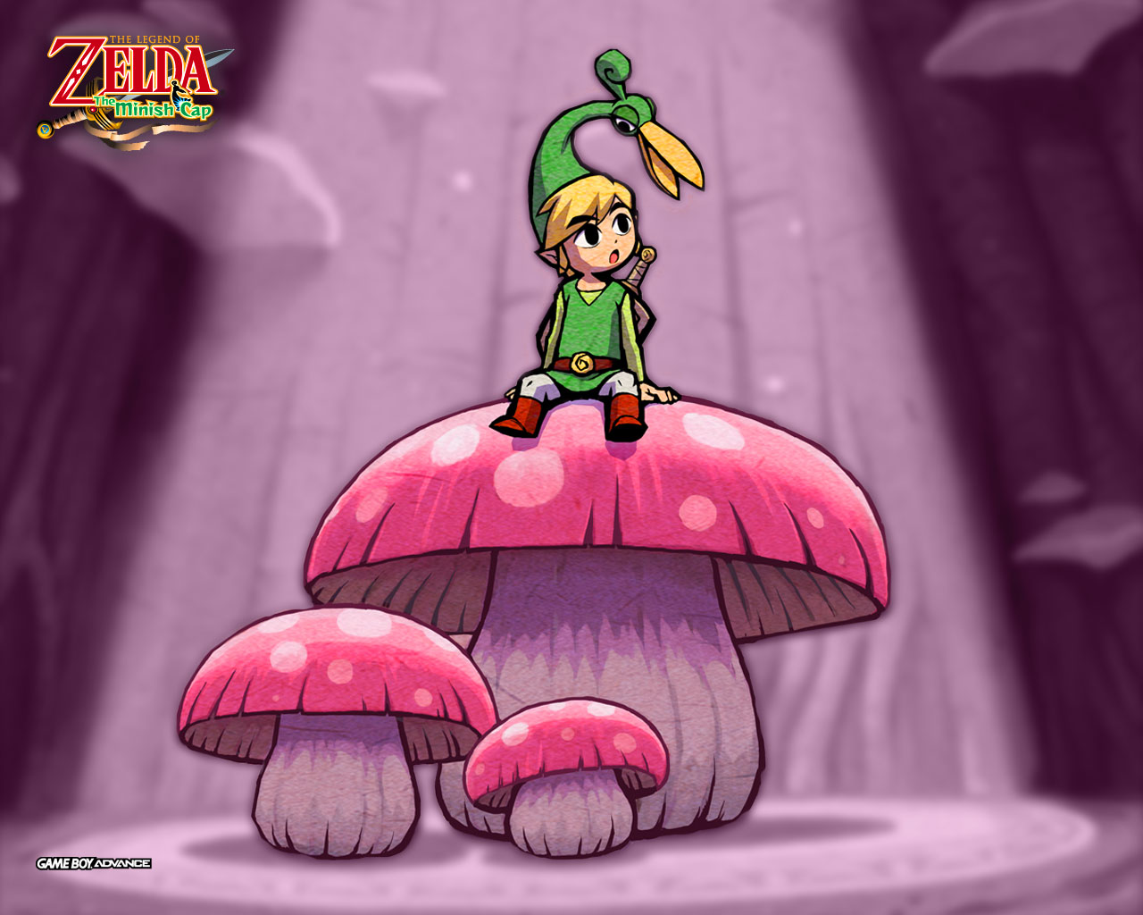 how to get the wake up mushroom in minish cap